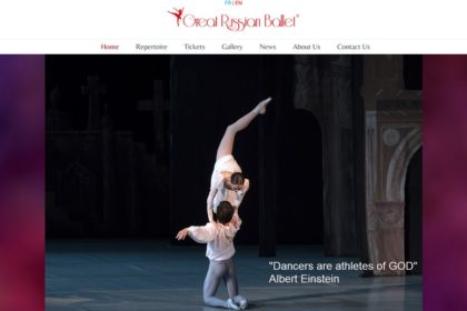 Portfolio / GREAT RUSSIAN BALLET /